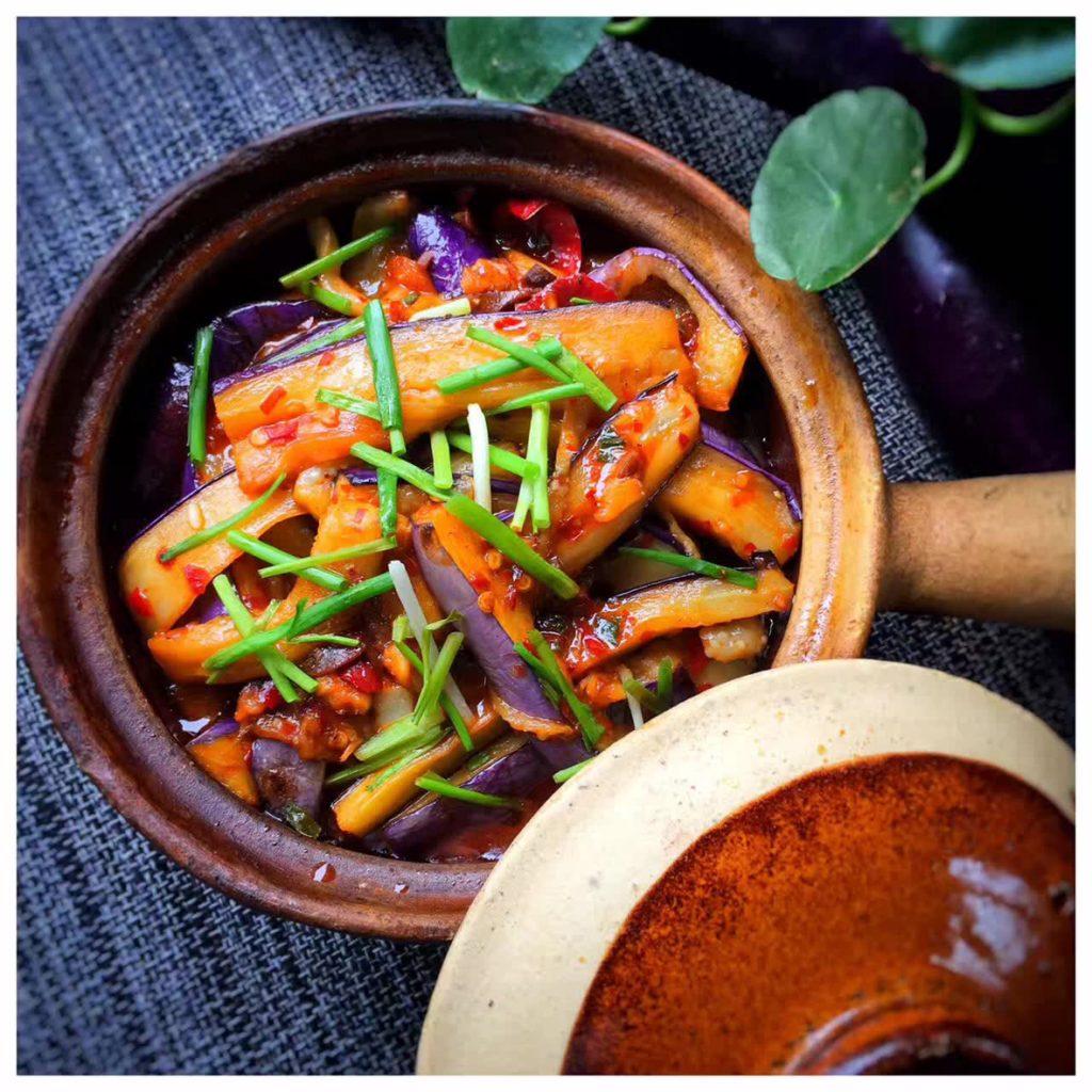 yangshuo secret garden eggplant